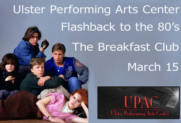 Flashback to 1985 with the UPAC Kingston viewing of The Breakfast Club
