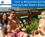 Club Getaway July 4 Weekend Package Deal