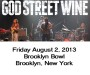 God Street Wine at Brooklyn Bowl August 2 2013