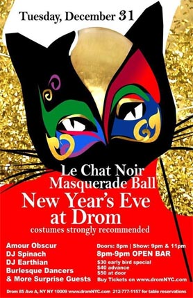 New Years Eve NYC at DROM